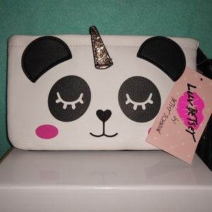 Luv by Betsey Johnson Double Pounch Wristle